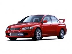 Автомобильные коврики EVA Mitsubishi Lancer Evolution VII (2001-2003)