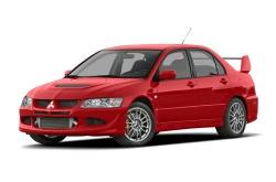Автомобильные коврики EVA Mitsubishi Lancer Evolution VIII (2003-2005)