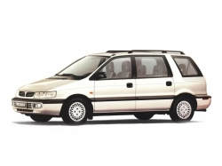 Автомобильные коврики EVA Mitsubishi Space Wagon II (1991-1997)