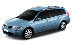 Автомобильные коврики EVA Renault Megane II универсал (2002-2008)