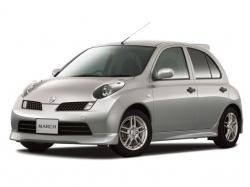 Автомобильные коврики EVA Nissan March K12, правый руль (2002-2010)