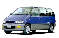 Автомобильные коврики EVA Nissan Serena I C23, левый руль (1991-2000)