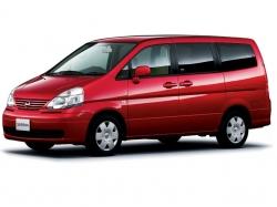 Автомобильные коврики EVA Nissan Serena III С25, правый руль (2005-2011)