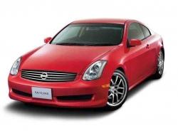Автомобильные коврики EVA Nissan Skyline XI V35 купе, правый руль (2001-2004)