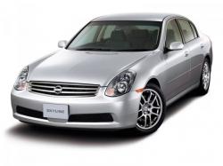 Автомобильные коврики EVA Nissan Skyline XI V35 седан, правый руль (2001-2004)