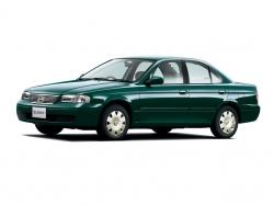 Автомобильные коврики EVA Nissan Sunny B15 седан, правый руль (1998-2004)