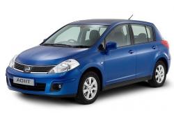 Автомобильные коврики EVA Nissan Tiida I C11 хэтчбек (2004-2013)