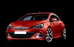 Автомобильные коврики EVA Opel Astra J GTC (2011-2014)