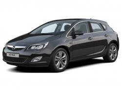 Автомобильные коврики EVA Opel Astra J хетчбек (2009-2014)