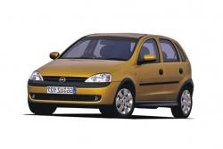 Автомобильные коврики EVA Opel Corsa C (2000-2006)