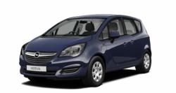 Автомобильные коврики EVA Opel Meriva A (2003-2010)