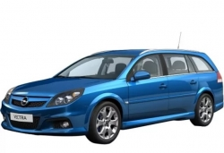 Автомобильные коврики EVA Opel Vectra C универсал (2002-2009)