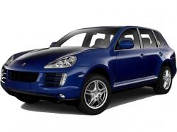 Автомобильные коврики EVA Porsche Cayenne I 957 (2007-2010)
