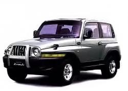 Автомобильные коврики EVA SsangYong Korando II (1996-2006)