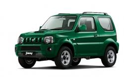 Автомобильные коврики EVA Suzuki Jimny III (1998-2018)