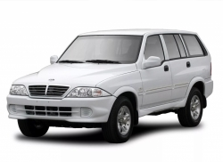 Автомобильные коврики EVA SsangYong Musso (1993-2005)