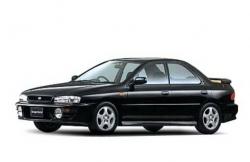 Автомобильные коврики EVA Subaru Impreza I GC/GF/GM, правый руль (1992-2000)