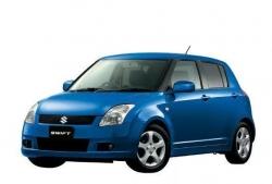 Автомобильные коврики EVA Suzuki Swift II, правый руль (2004-2010)