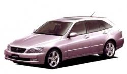 Автомобильные коврики EVA Toyota Altezza Gita, правый руль (1998-2005)