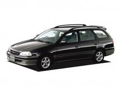 Автомобильные коврики EVA Toyota Caldina T21x, правый руль (1997-2002)