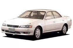 Автомобильные коврики EVA Toyota Chaser X90, правый руль (1991-1996)