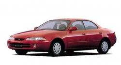 Автомобильные коврики EVA Toyota Corolla Ceres AE100 седан, правый руль (1992-1998)