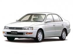 Автомобильные коврики EVA Toyota Corona Select.Saloon X, правый руль (1992-1994)