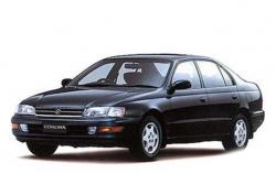 Автомобильные коврики EVA Toyota Corona T170, правый руль (1987-1992)