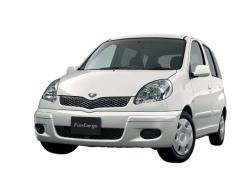Автомобильные коврики EVA Toyota FunCargo, правый руль (1999-2005)