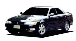Автомобильные коврики EVA Toyota Mark II GX100, правый руль (1996-2000)