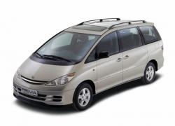 Автомобильные коврики EVA Toyota Previa II (2000-2006)