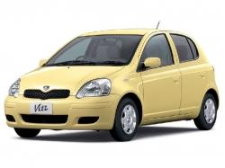 Автомобильные коврики EVA Toyota Vitz I XP10, правый руль (1998-2005)