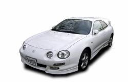 Автомобильные коврики EVA Toyota Celica VI T200 левый руль, перекидыш (1994-1999)