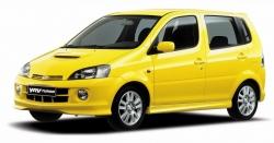 Автомобильные коврики EVA Daihatsu YRV (2000-2005)