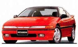 Автомобильные коврики EVA Mitsubishi Eclipse G1 (1989-1994)
