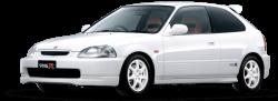 Автомобильные коврики EVA Honda Civic VI хэтчбек, правый руль (1996-2000)