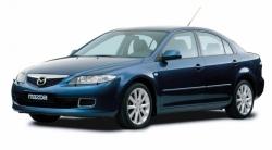 Автомобильные коврики EVA Mazda 6 I GG лифтбек (2002-2007)
