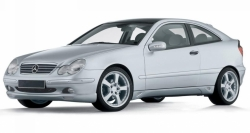 Автомобильные коврики EVA Mercedes-Benz C W203 хэтчбек (2000-2006)