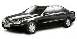 Автомобильные коврики EVA Mercedes-Benz S W220 Long 4WD (1999-2005)