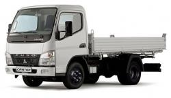 Автомобильные коврики EVA Mitsubishi Fuso Canter VII, правый руль (2002-2010)