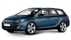 Автомобильные коврики EVA Opel Astra J универсал (2011-2014)