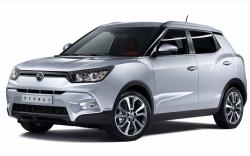 Автомобильные коврики EVA SsangYong XLV (2016->)