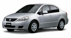 Автомобильные коврики EVA Suzuki SX4 I седан (2006-2013)