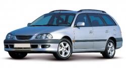 Автомобильные коврики EVA Toyota Caldina T21x 4WD, правый руль (1997-2002)