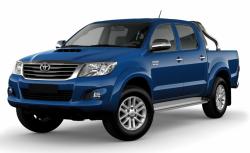 Автомобильные коврики EVA Toyota Hilux VII (2004-2015)