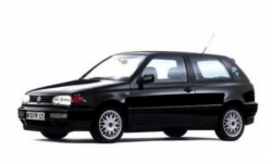 Автомобильные коврики EVA Volkswagen Golf III хэтчбек 3D (1991-1997)