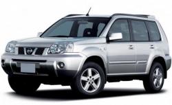 Автомобильные коврики EVA Nissan X-Trail I T30, правый руль (2001-2007)