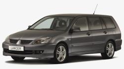 Автомобильные коврики EVA Mitsubishi Lancer IX универсал (2000-2007)