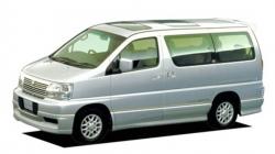 Автомобильные коврики EVA Nissan Elgrand I C50 правый руль (1997-2002)