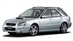 Автомобильные коврики EVA Subaru Impreza II GD/GG универсал (2000-2007)